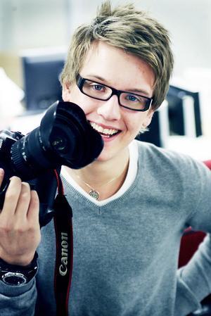 Jens L´Estrade vann tävlingen Ung Bild.