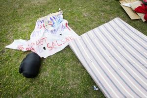 Ungdomarnas hungerstrejk i Gävle avbruten.