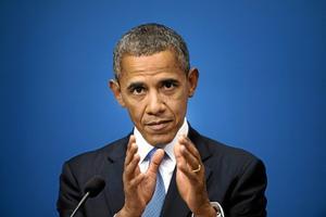 """vill prata med EU. President Barack Obama lovade i Stockholm att """"konsultera"""" EU när det gäller NSA:s övervakning. Förhoppningsvis för han en dialog med Tysklands förbundskansler Angela Merkel. I Tyskland har kritiken mot NSA varit mer utbredd än i Sverige. Foto: Jessica Gow/Scanpix"""