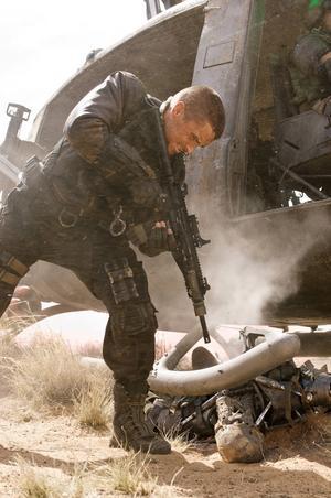 Terminators och action är de viktiga i de här filmerna, anser Christian Bale.