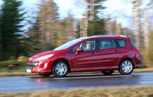 Peugeot 308 SW är kompakt men ändå väldigt rymlig. Väl tilltagen höjd är en del av hemligheten.