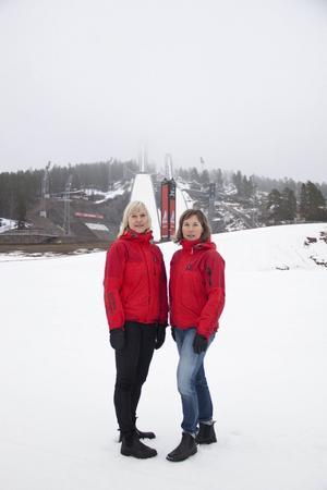 Marie Sandberg-Nilsson och Malin Jonsson poängterar att Barnens Skidspel är ett arrangemang med skidåkning på barnens villkor.