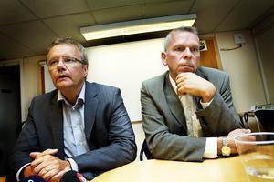 Göran Henriksson, VD, Milko och Lars Reyier, ordförande i Milko.