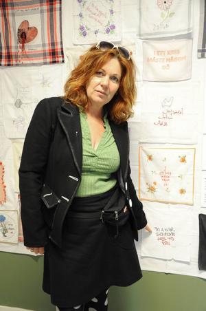 Hanne Bang från Danmark fick idén till utställningen för två år sedan.