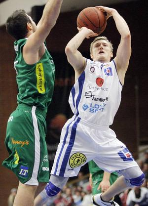 Jimmy Widell fick fint förtroende senast mot Södertälje – spelade drygt 14 minuter.
