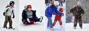 Länets kommuner bjuder på en mängd aktiviteter, både inomhus och utomhus, för barn under sportliovsveckan.