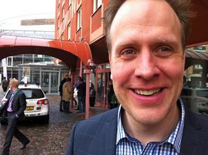 Magnus Lindkvist spanar efter framtidens trender, men betonar fikarummets betydelse för innovationer.
