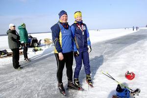 Lena Bernhardsson och Hanna Hodin deltig i Storsjöskrinnet.