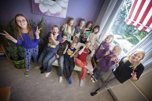 Klass 4–6 på Hovs skola är glada över att de är den skola som slänger minst mat i kommunen.