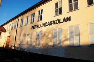 Bilden är från 2014 och visar gamla Perslundaskolan.