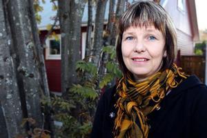 Lena Bäckelin kan bli nästa riksdagsledamot från Härjedalen om väljarna och partiet och mandatfördelningen vill. Den senaste var Rune Berglund från Vemhån. Foto: Håkan degselius