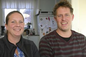 Eva och Stefan Mauleon driver lantbruket Lilla Grödby.