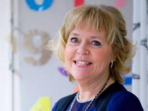 Carina Cederholm som är rektor på S:t Olofsskolan har utsetts till Årets gastronomiska rektor.