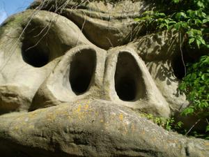 den här monstergorillan fick vi syn på i furuvikparken sommarn 2011
