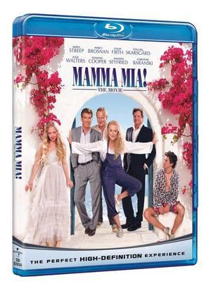 """Sjung med. Bli-glad-filmen """"Mamma mia"""" på dvd med singalongversion och massa annat extramaterial, 169 kronor från till exempel cdon.com."""
