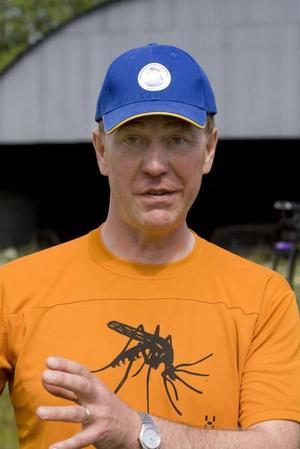 VARNING. Myggforskaren Jan Lundström varnar för ett utbrott av Ockelbosjukan.