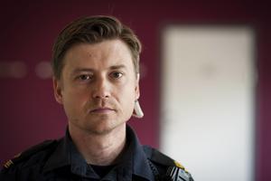 Jimmy Norberg, gruppchef för trafikgruppen polisen Jämtland.