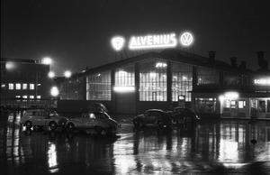 Alvenius på natten.