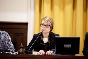 Agneta Blom, ordförande för socialdemokratiska partidistriktets valberedning.