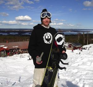 JVM-sjua. Andreas Gidlund lyckades näst bäst av de svenska deltagarna i Bad Gastein.