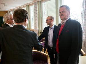 Timrå IK:s ordförande Lars Backlund.