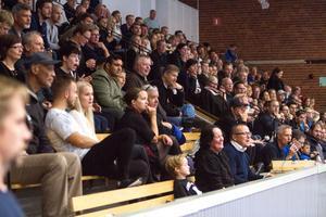 309 personer kom för att se Köping Stars permiärmatch.