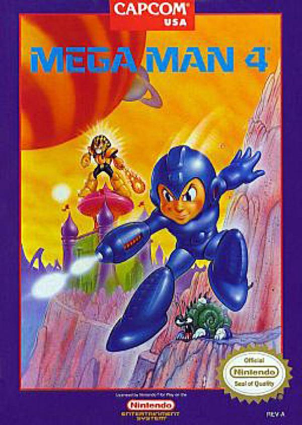 Mega Man 4.