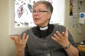 Eva Nordung Byström säger i boken att hon ibland blir ifrågasatt på grund av hennes kön.