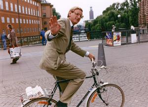 Blivande statsminister 1991.