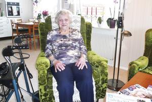 Fyller år. Karin Tengvall fyller 95 år i dag.