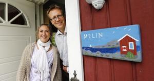 Tina och Örjan Melin hoppas att deras initiativ ska bidra till ett mer levande samhälle på Blidö.