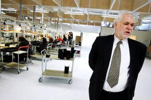 I Gelabs nya lokaler på Frösön finns gott om utrymme för expansion, enligt vd Lars Olsson.  Foto: Henrik Flygare
