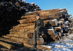André Själander storsatsar med sitt företag i Tågsjöberg.