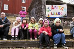 Lillboskolans fritidshem fanns också på plats.