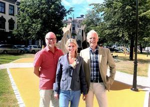 Hans Brynielsson, Liza-Maria Norlin och Bertil Hörnqvist i KD, vill se saker och ting utifrån barns ögon för att skapa en bra uppväxtmiljö och utveckla Sundsvall.
