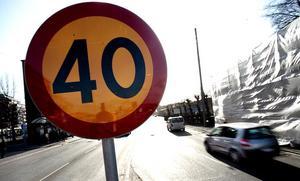 Nya hastigheter börjar snart gälla i Örnsköldsvik.
