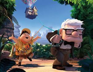 """Den gamle och scouten. """"Upp"""" är en 3-D-animerad familjekomedi i toppklass."""