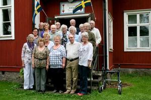 Många minnen. Årets skolträff på Åkerby skola lockade 18 före detta elever som var och en hade många minnen att dela med sig av.
