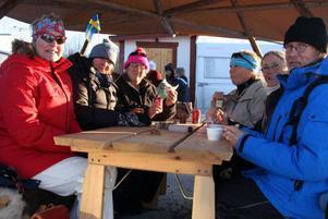 Ylva Lind, Åsa Cederberg, Eva Nilsson, Lena Nilsson, Inger Brynge och Anders Brynge tyckte att tävlingarna var spännande.