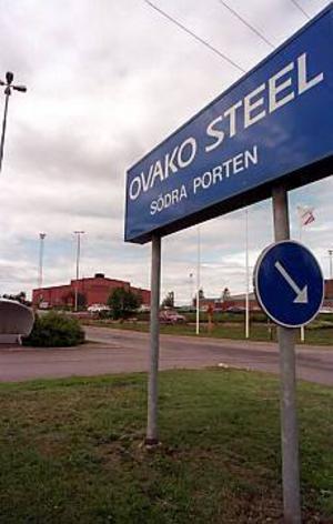 Arkivbild Varsel på gång. Mellan 100 och 200 förlorar jobben i Ovako Steel i Hofors. Förhandlingar med de fackliga organisationerna har redan inletts