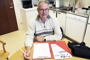 Det har hittills inte varit några problem att få folk att skriva på namnlistorna, säger Roger Torvidsson, ordförande för PRO Ovanåker.