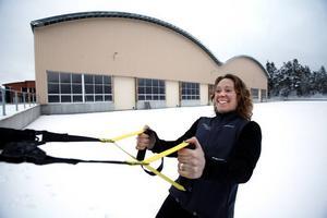 Träningshus. Linda Tiensivu öppnar ett träningscenter i Tomokus före detta bygge på Norrlandet.