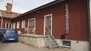 Företagets lokaler i Riddarhyttan. Scanglas utnämndes i maj till årets företag i Skinnskattebergs kommun.