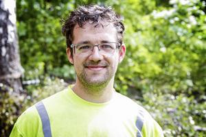 Victor van Deuren har arbetat som arborist i femton år.
