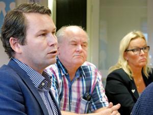 – De som kommer till vår bransch känner sig lite misslyckade, sa Sibyllachefen Joackim Carlsson.Även Ulf Brodén från Snorre Maskin och Veronica Stjärnström från Assistanspartner deltog i rundabordsamtalet.