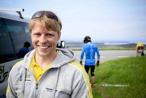 Johan Hagström är en av två östersundare i årets tränarstab för A-landslaget. Den andra är Mattias Nilsson, den förre världsstjärnan som de senaste åren jobbat i Brasiliens landslag.   Arkivbild: Olof Sjödin