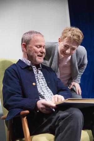 Yngve Sundén och Maria Selbing som äkta paret Gunnar och Ellen i pjäsen
