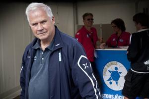 Sven-Bertil Bengtsson, nöjd ordförande för Storsjöcupen.