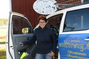 Katrina Freyer har flyttat till Nornäs från Tyskland med son familj och driver nu en verksamhet med