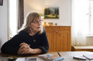 Anna-Clara Tidholm bor i Arbrå utanför Bollnäs.